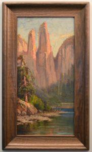 H.D. Gremke (1860-1939) Cathedral Spires, Yosemite