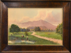 Alfred V. Farnsworth (1858-1908) Mount Tamalpais from Mill Valley