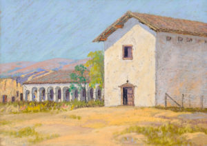 Carl Sammons (1883-1968) Mission San Miguel