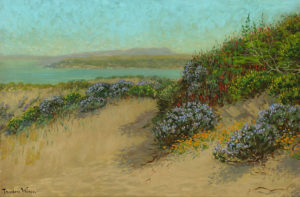 Theodore Wores (1859-1939) Lime Point and the Marin Shore from the Sand Dunes of San Francisco