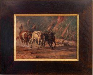H.D. Gremke (1860-1939) Logging in California