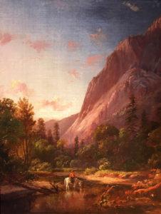 William Keith (1838-1911) Glacier Rock, Yosemite; study