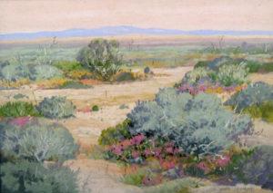 Carl Sammons painting