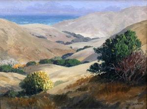 Carl Sammons (1883-1968) Humboldt County Hills