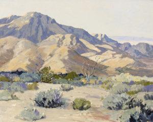 Carl Sammons (1883-1968) Desert Harmony
