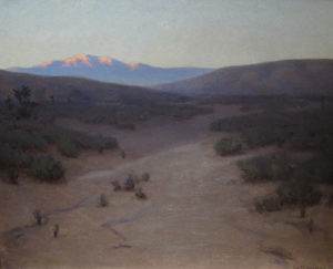 ohn M. Gamble (1863-1957) Sunset Glow, High Sierra near Lone Pine