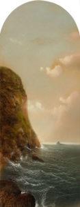 George Douglas Brewerton (1827-1901) Headlands and Ocean