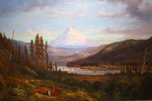 William Keith (1838-1911) Mount Hood from Sandy River