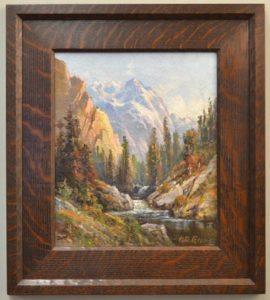 H.D. Gremke (1860-1939) Kings River Scenery