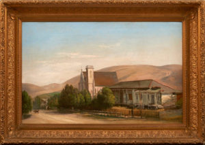 Ferdinand Richardt (1819-1895) Mission San Jose in 1880