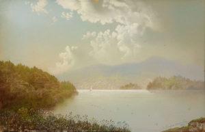 George Douglas Brewerton (1827-1901) Misty Morning