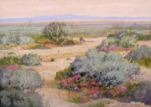 Carl Sammons (1883-1968) Desert Wildflowers