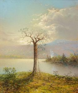 George Douglas Brewerton (1827-1901) Spring