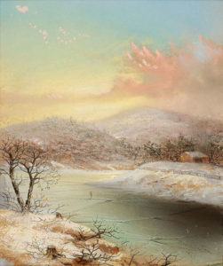 George Douglas Brewerton (1827-1901) Winter