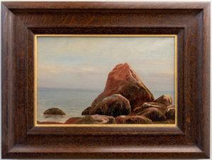 Raymond D. Yelland (1848-1900) Monterey Rocks